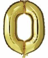 0 jaar versiering cijfer ballon trend 10062662