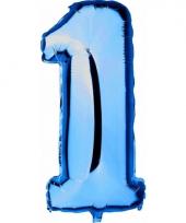 1 jaar versiering cijfer ballon trend
