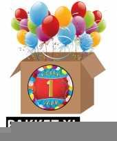 1 jarige feestversiering pakket xl trend