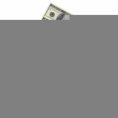 100 dollar geldbundel servetten