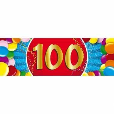 100 jaar sticker
