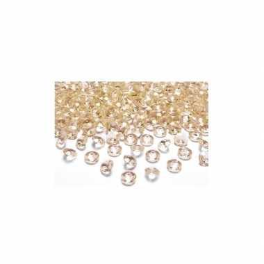 100 steentjes goud 2 cm