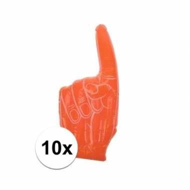 10x holland supporters handen opblaasbaar
