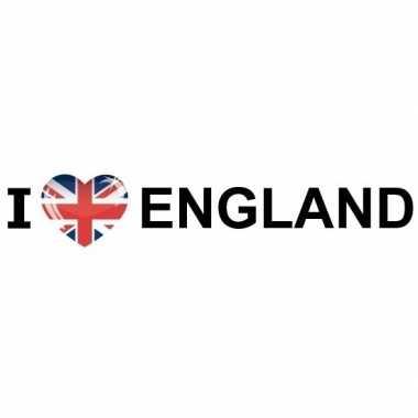 10x i love england stickers