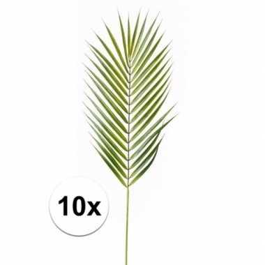 10x kunst chamaedorea bladeren 75 cm