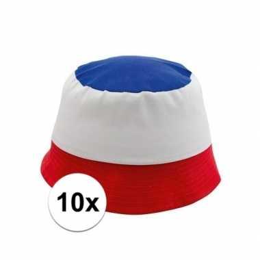10x voetbal petjes frankrijk