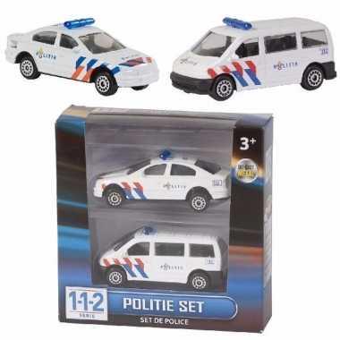 112 politie auto setje van 2 stuks