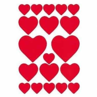 114x hartjes love stickers