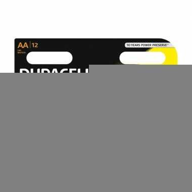 12x duracell aa batterijen alkaline