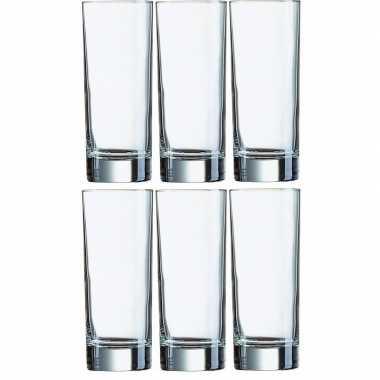 12x longdrink glazen 330ml