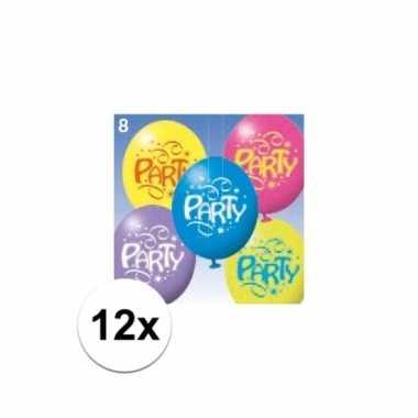 12x party ballonnen