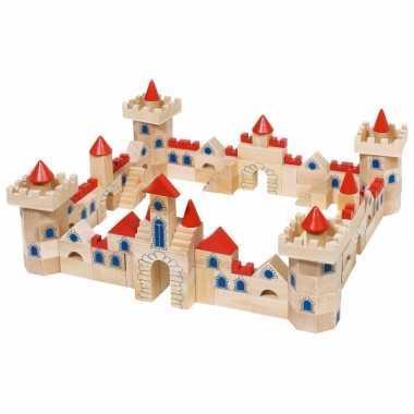 145-delige set bouwblokken kasteel