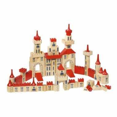 150-delige set bouwblokken kasteel