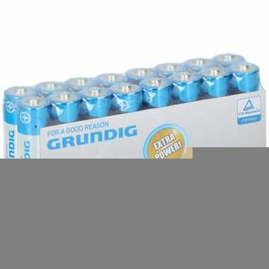 16x grundig aa batterijen alkaline