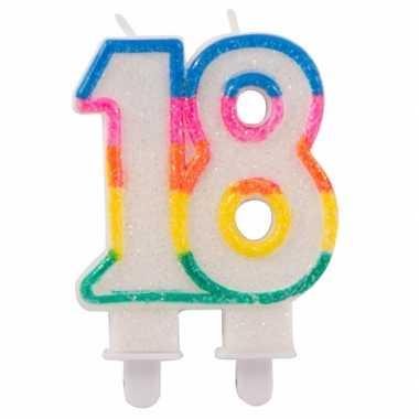 18 feest kaars