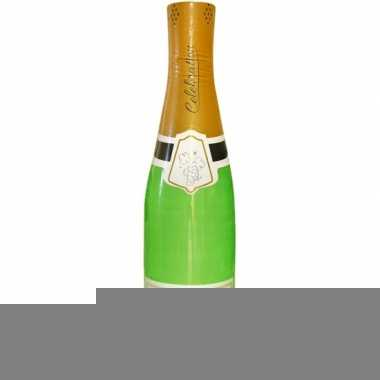 180 cm grote opblaasbare champagne fles
