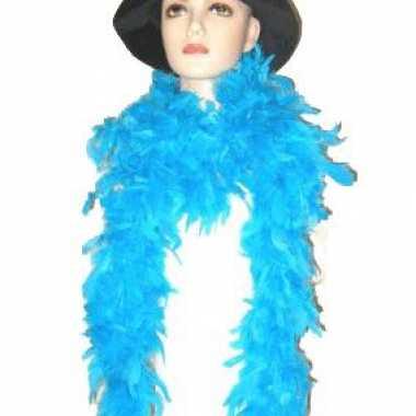 180 cm lange turquoise boa