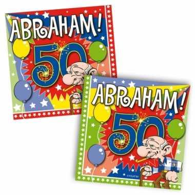 20 stuks abraham servetten