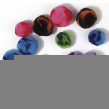 200x assortiment knutsel pompons