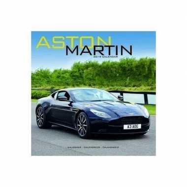 2019 kalender met aston martin auto's