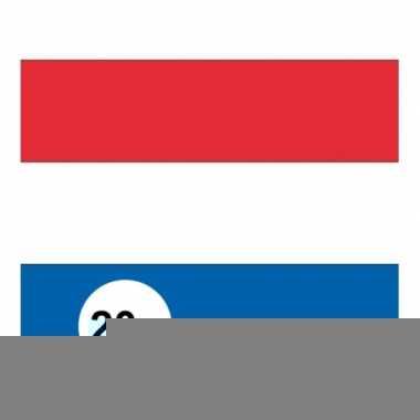 20x vlag nederland stickers