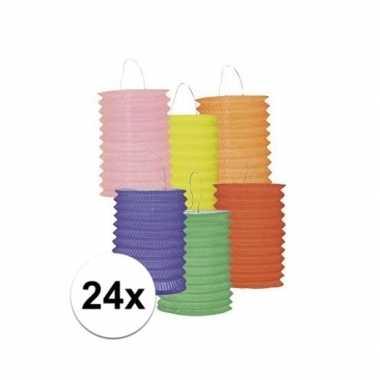 24 papieren lantaarns
