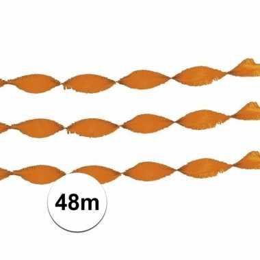 2x brandvertragende slinger oranje 24 m
