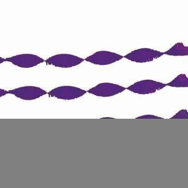 2x brandvertragende slinger paars 24 m