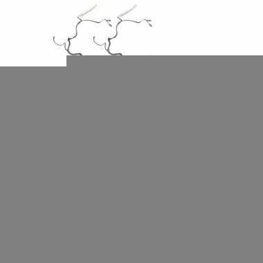 2x bruine kronkelhazelaar kunstbloemen tak 66 cm
