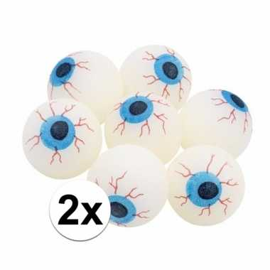 2x glow in the dark oogballen