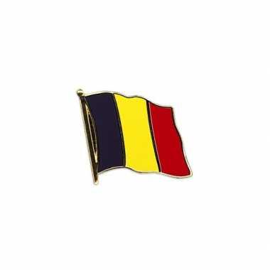 2x landen colbert pin vlag belgie