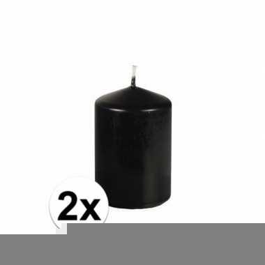 2x stompkaars zwart 26 branduren