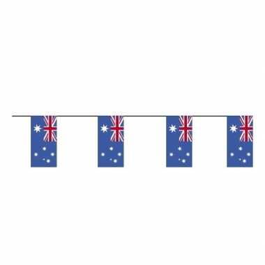 2x vlaggenlijnen australie 4 meter