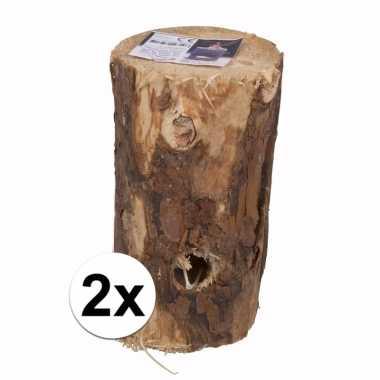 2x zweedse boom fakkel 20 cm