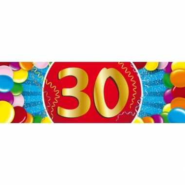 30 jaar sticker
