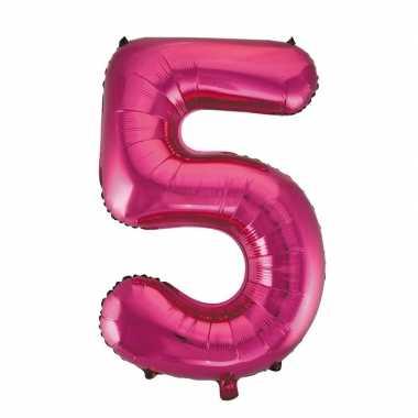5 jaar versiering cijfer ballon
