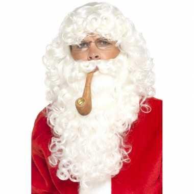 Aankleed pakket kerstman gezicht