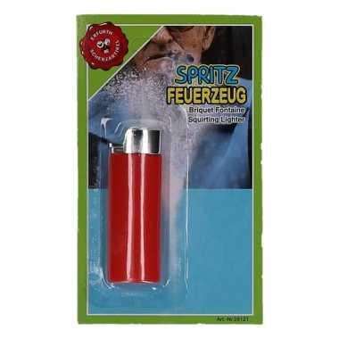 Aansteker met waterspuit 15 cm