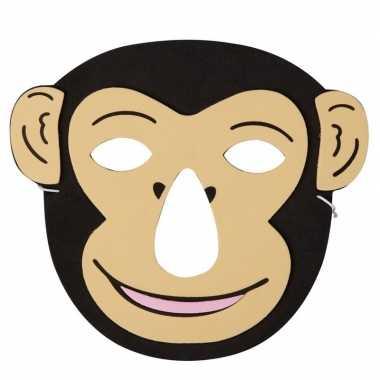 Aap foam masker voor kinderen