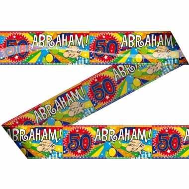 Abraham 50 jaar afzetlint