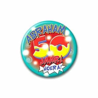 Abraham broche 50 jaar