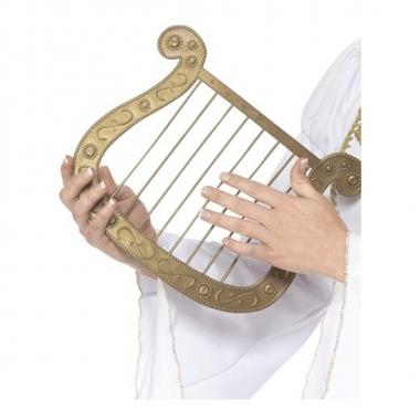 Accesoire harp goud