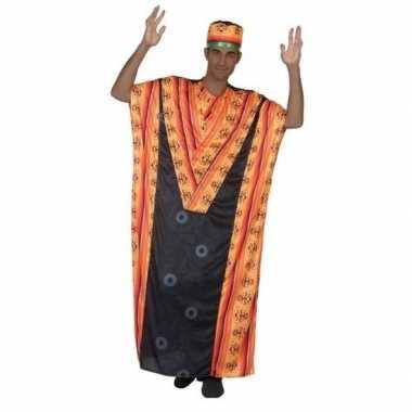 Afrikaanse kaftan verkleed kostuum voor heren