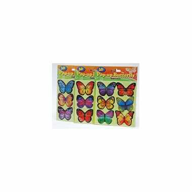 Agenda stickers vlinders