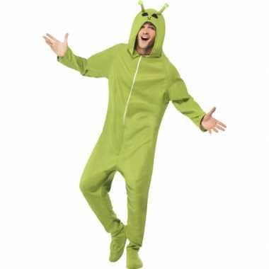 Alien jumpsuit groen