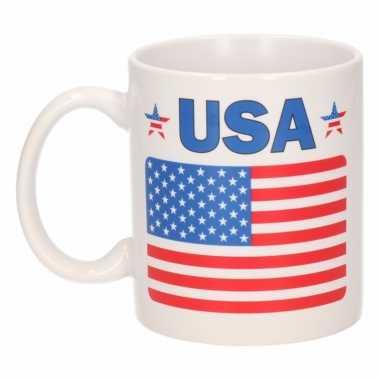 Amerikaanse vlag theebeker