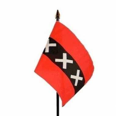 Amsterdam vlaggetje met stokje