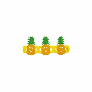 Ananas slingers van papier