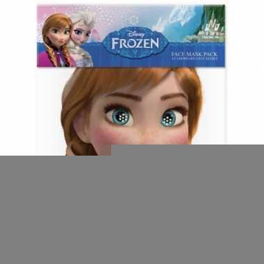 Anna frozen kartonnen masker