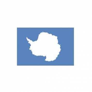 Antarctica vlag van polyester 150 x 90